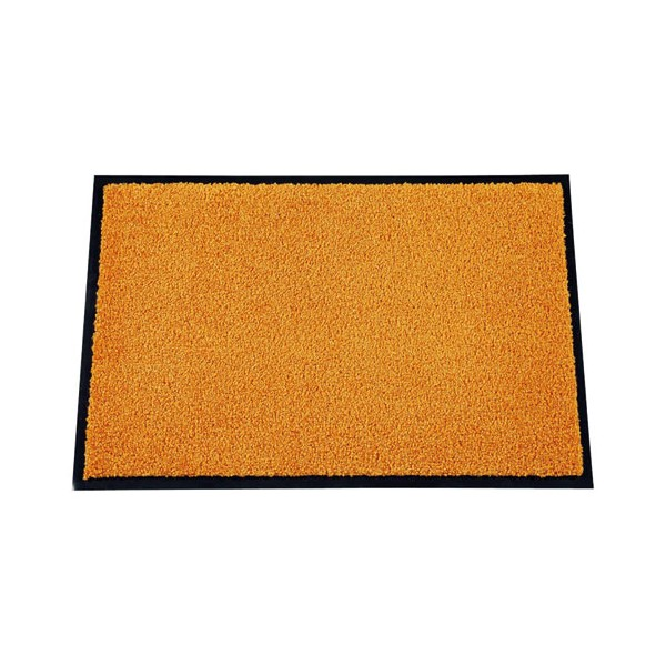 Tapis absorbant Mirande - 40x60 cm - orange - MIRANDE 406016 - ID MAT