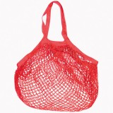 Filet en coton - 40x40 cm - rouge