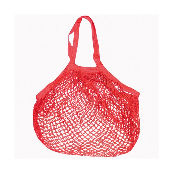 Filet en coton - 40x40 cm - rouge - 702009 - SIDEBAG