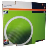 Tube fluocompact circulaire Luminux T9 C 40 W - Blanc industriel - 4 000 K