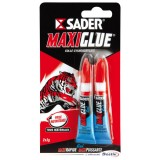 Colle Maxiglue - lot de 2 - gel - 3 g