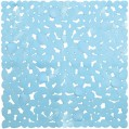 Tapis douche - Cabourg turquoise - 54x54 cm