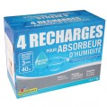 Recharge absorbeur 1Kg - lot de 4