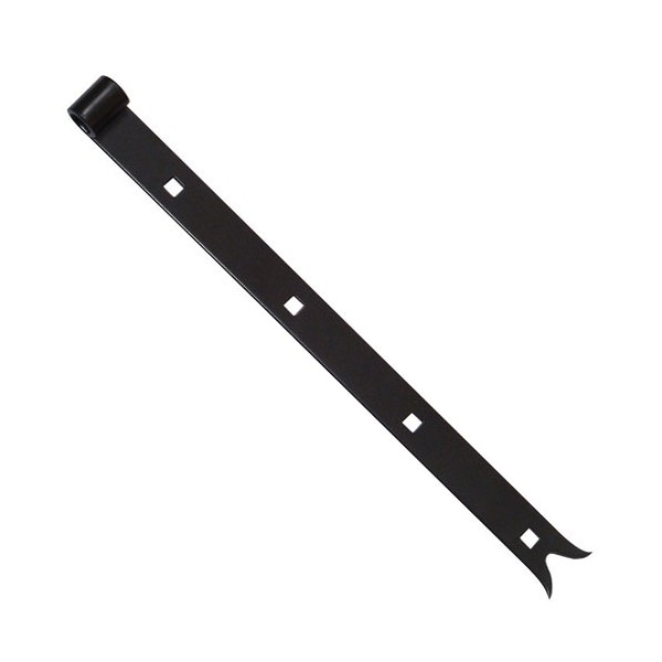 Penture forte - noir - queue de carpe - 14x600 mm  - 745906 - MERMIER