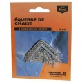 Equerre de chaise - lot de 4 - 40 mm  - 675440 - Mermier