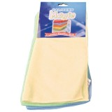 Lot de 3 lavettes microfibre Magic 30x30cm