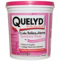 Colle toiles de verre - avec indicateur coloré - 1 Kg  - 3024303 - Quelyd
