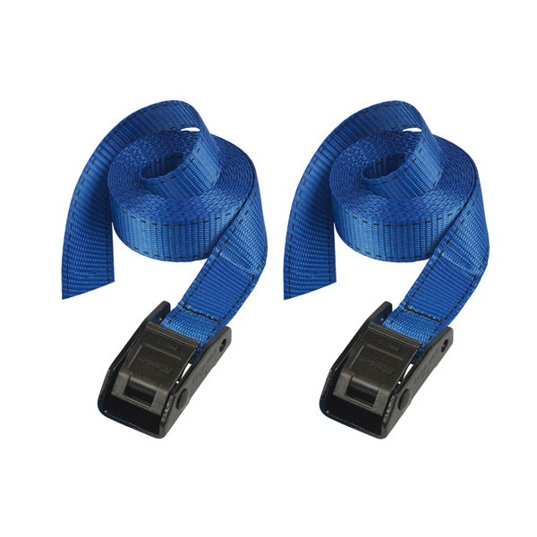 Sangle à bagage - lot de 2 - 2.5 m x 25 mm - 3110EURDAT - MASTER LOCK