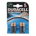 Lot de 4 piles alcalines LR03 Ultra Power- AAA - 11097 - Duracell