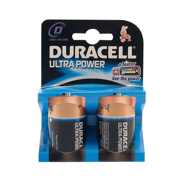 Pile LR20 Ultra Power - D - 11099 - DURACELL