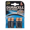 Lot de 4 piles LR06 Ultra Power - AA - 11096 - Duracell
