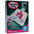 Lot de 4 sacs aspirateur non tissé - s70 - BOSCH - S70 - Handy bag