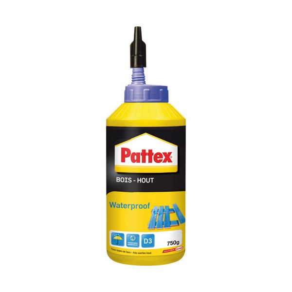 Colle bois - waterproof - 750 g  - 1419269 - PATTEX