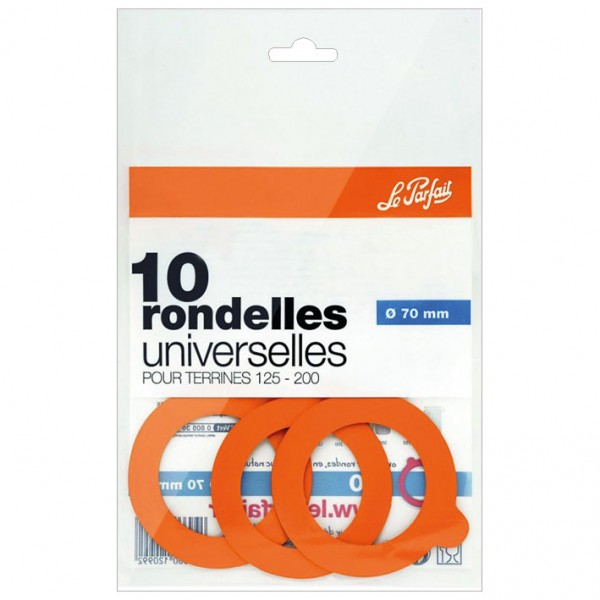 Rondelle universelle Super D : 70 mm - lot de 10 - 612099 - LE PARFAIT