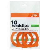 Rondelle universelle Super D : 85 mm - lot de 10