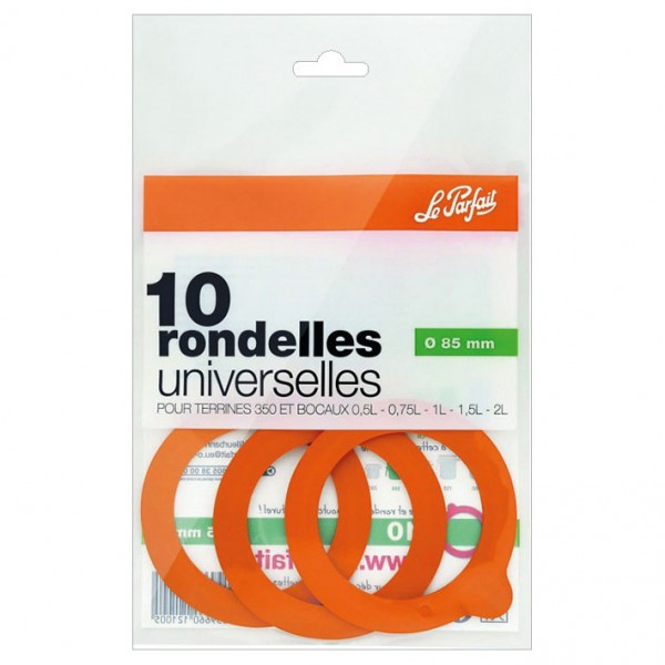 Rondelle universelle Super D : 85 mm - lot de 10 - 612100 - LE PARFAIT