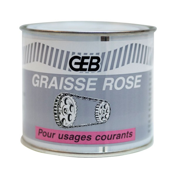 Graisse rose - n°2 - 320 g - 504212 - GEB