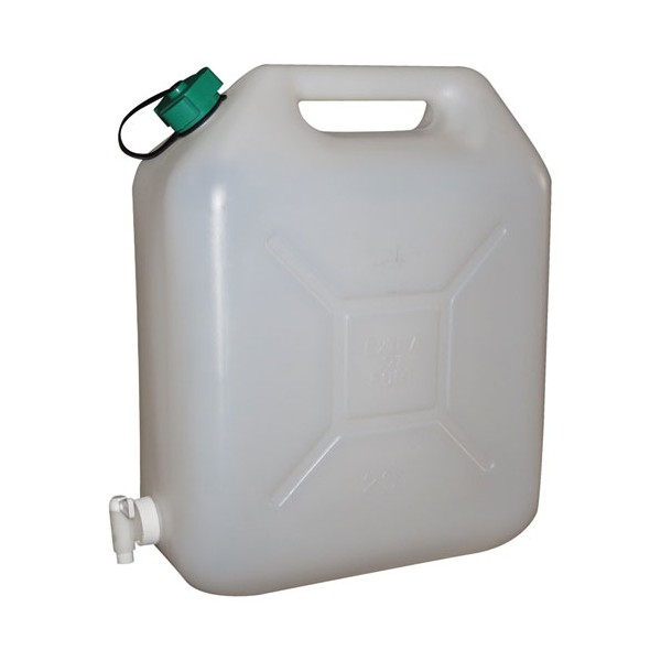 Jerrican alimentaire + robinet - 20 L  - 10587 - EDA