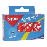 Attrape mouches - lot de 4