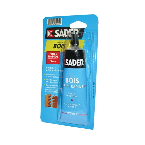 Colle bois rapide 125 ml 30242131 sader home boulevard for Colle a bois exterieur sader