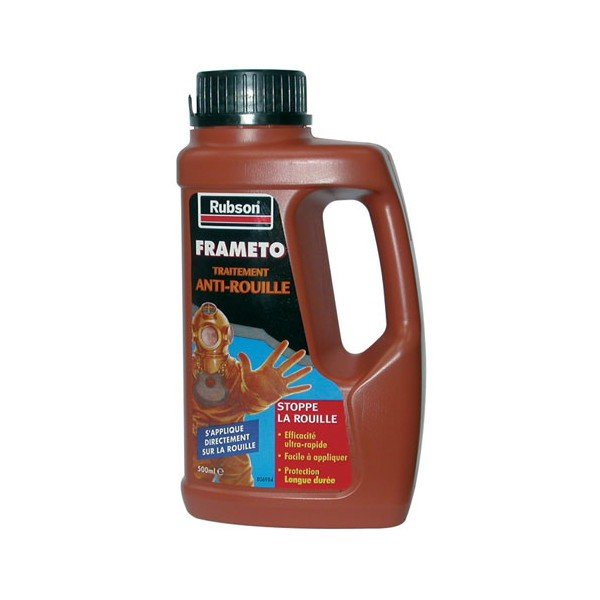 Traitement anti-rouille - 500 mL - 788863 - FRAMETO