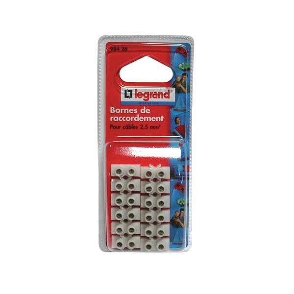 Barrette de raccordement Nylbloc - 6 mm² - 98426 - LEGRAND
