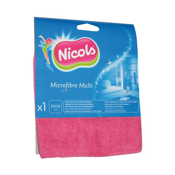 Lavette en microfibre multi-usages  - 507031 - NICOLS