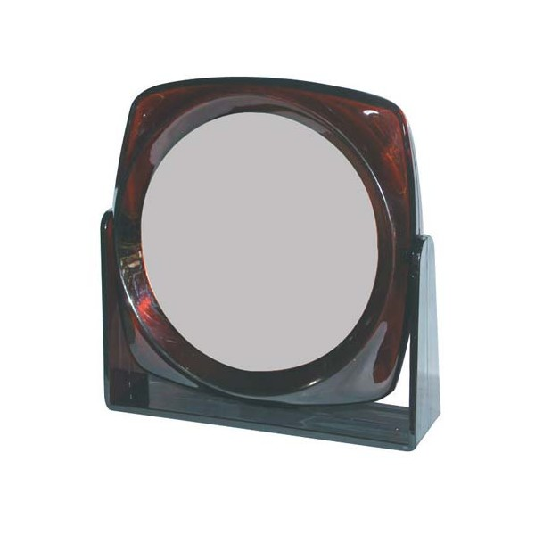 Miroir double face rond sur pied spongia home boulevard for Miroir double face