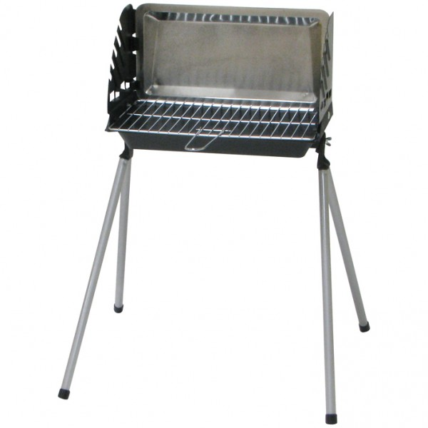 Barbecue à charbon fonte convertible - Barbeco - 40.5x23 cm - SOMAGIC