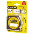 Mesure Powerlock - 8 m x 25 mm - 33198 - Stanley