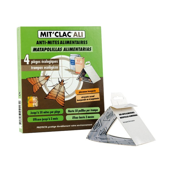 Anti-mites alimentaires - lot de 4 - MIT'CLAC