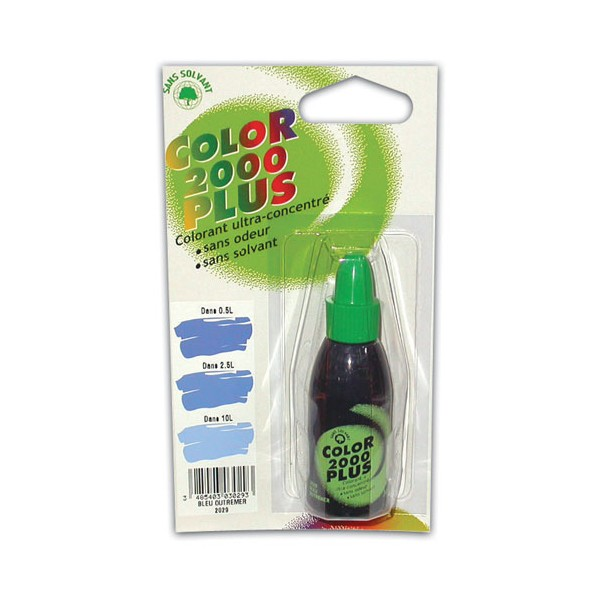 Colorant - bleu- 30 mL - COLOR 2000+