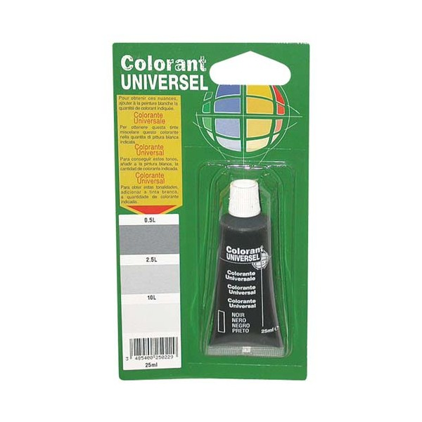Colorant - sienne calcinée - 25 mL - COLORANT UNIVERSEL