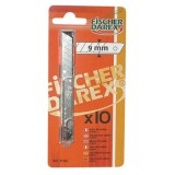 Lame de cutter - lot de 10 - 9 mm