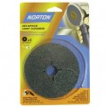 Disque fibre abrasif - Norzon - lot de 3 - grain 80 - D: 115 mm - 63642519135 - Norton