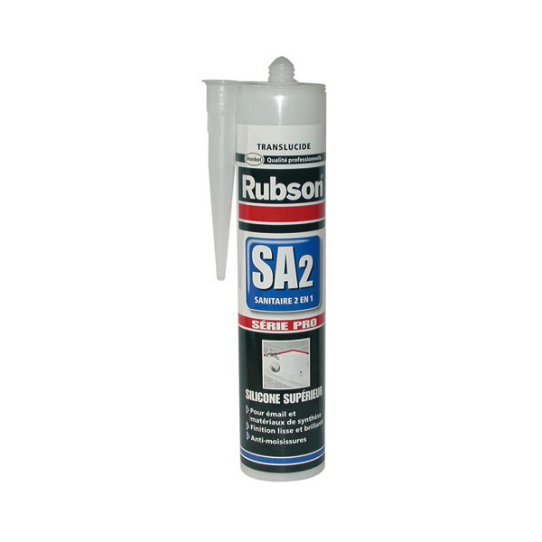 Mastic SA2 - professionnel - transparent - 280 mL - 429330 - RUBSON