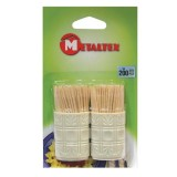Cure-dents en bois - 2x100