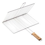 Grille barbecue double - 40x30 cm