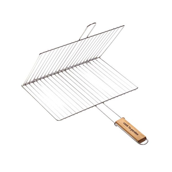 Grille barbecue double - 40x30 cm - GR210 - COOK'IN GARDEN