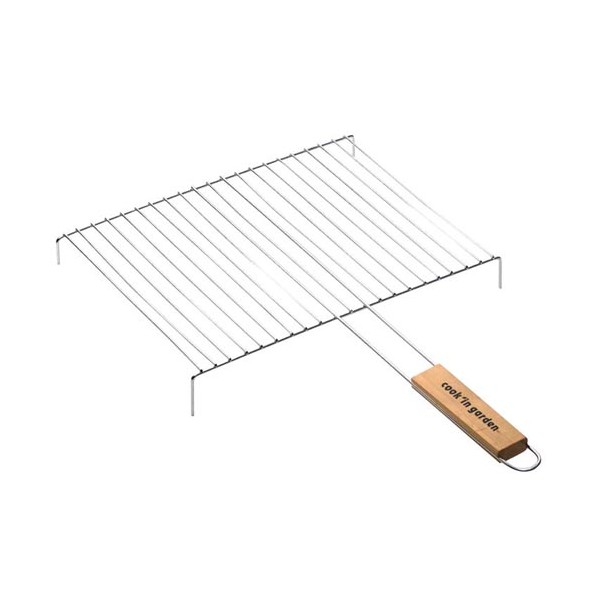 Grille barbecue simple + pied - 40x30 cm - GB213 - COOK'IN GARDEN