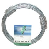Fil attache - zinc - D : 1.2 mm - 25 m