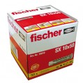 Cheville nylon - lot de 50 - SX 10 - 70010 - Fischer