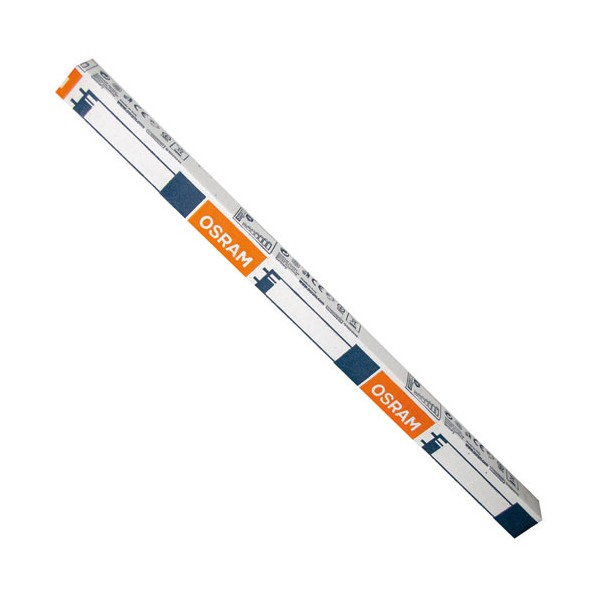 Tube fluocompact Relax - 8 W - 29 cm - D: 16 mm - Blanc doré - 2 700 K - 60205S - OSRAM
