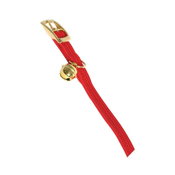 Collier chat en nylon - 30 cm - rouge  - 11902 1 - MARTIN SELLIER