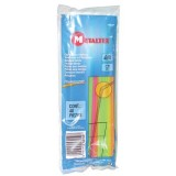 Paille flexible x40 - fluo