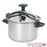 Cocotte-minute Authentique en inox - 8 L