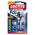 Colle Super glue3 - liquide - 2x3 g