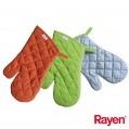 Gant isolant pour four et barbecue - lot de 2 - Rayen