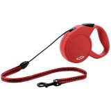 Laisse extensible - small - rouge