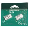 Lot de 2 starters universels FS11 - 36 mm - 230 V - 24425 - Sylvania